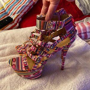 Dollhouse platform heels
